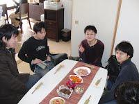 食事待ち中(その1)